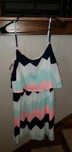 NWT - Chevron Summer Dress